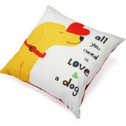Accent Pillow - All You Need Is Love and a Dog