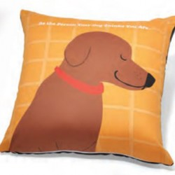 Accent Pillow - Be the Person Your Dog Thinks You Are