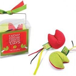 Christmas Catnip Fortune Cookies