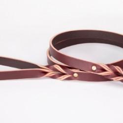 Basic Braided Leather Leash