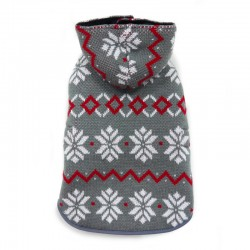 Reversible Sweater Trench Coat