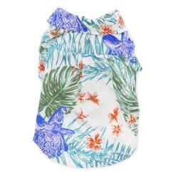 Blue Leafy Shirt