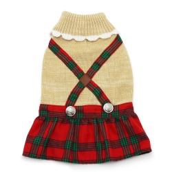 Holiday Plaid Dress