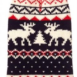 Fairisle Moose Sweater