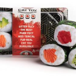 Sushi Tray with 6 Sushi