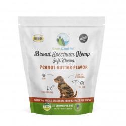 Broad Spectrum Hemp Soft Chews - Peanut Butter