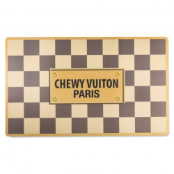 Chewy Vuiton Placemat - Checker