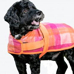 HuggleWear Jackets - Pink & Orange Plaid