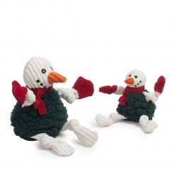 2021 Holiday HuggleFleece FlufferKnottie - Snowman