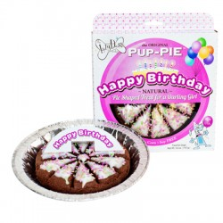 "6"" Happy Birthday Pup Pies - Darling Girl"