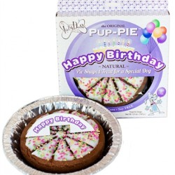 "6"" Happy Birthday Pup Pies"