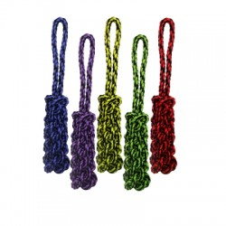 Nuts for Knots - Rope Tug w/Braided Stick