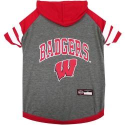 Wisconsin Badgers Hoodie Tee