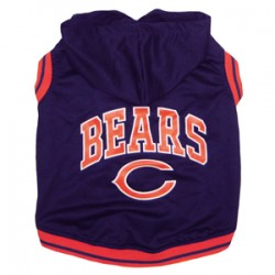 Chicago Bears Sleeveless Hoodie Tee