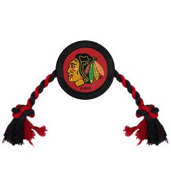 Chicago Blackhawks Hockey Puck Toy