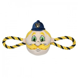Milwaukee Brewers Mascot Double Rope Toy