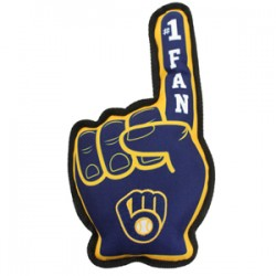 Milwaukee Brewers No. 1 Fan Toy