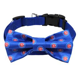 Chicago Cubs Bow Tie Collar