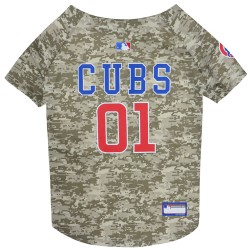 Chicago Cubs Mesh Camo Jersey