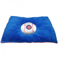 Chicago Cubs Plush Pillow Bed