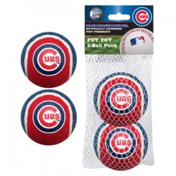 Chicago Cubs Tennis Ball - 2 pack