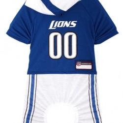Detroit Lions Pet Onsie