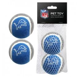 Detroit Lions Tennis Ball - 2 pack