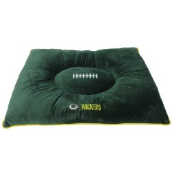 Green Bay Packers Plush Pillow Bed