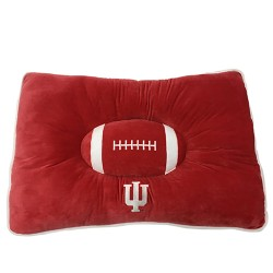 Indiana Hoosiers Plush Pillow Bed