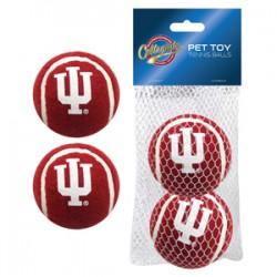 Indiana Hoosiers Tennis Ball - 2 pack