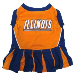 Illinois Fighting Illini Cheerleader Outfit