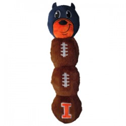 Illinois Fighting Illini Mascot Long Toy