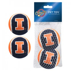 Illinois Fighting Illini Tennis Ball - 2 pack