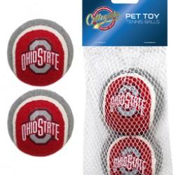 Ohio State Buckeyes Tennis Ball - 2 pack