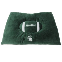 Michigan State Spartans Plush Pillow Bed