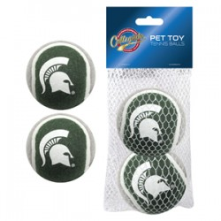 Michigan State Spartans Tennis Ball - 2 pack