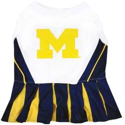 Michigan Wolverines Cheerleader Outfit