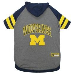 Michigan Wolverines Hoodie Tee