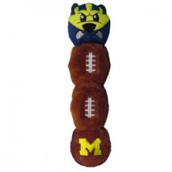 Michigan Wolverines Mascot Long Toy
