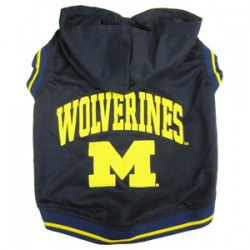 Michigan Wolverines Sleeveless Hoodie Tee