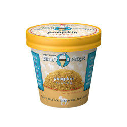 Smart Scoops Goats Milk Ice Cream Mix - Pumpkin