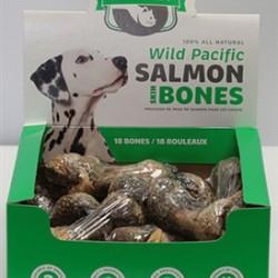 Salmon Skin Bones