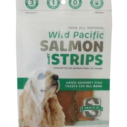 Salmon Strips for Dogs