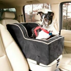 Luxury High Back Lookout Console Pet Car Seat
