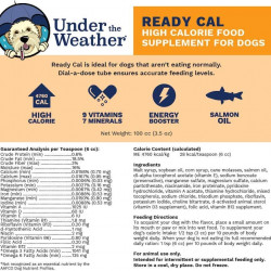 Ready Cal for Dogs