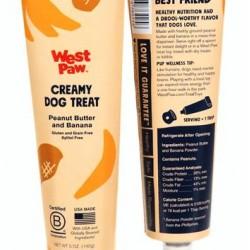 Creamy Dog Treats - Peanut Butter and Banana