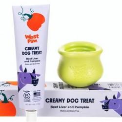Creamy Dog Treats - Beef Liver and Pumpkin