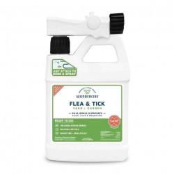 Flea, Tick & Mosquito Spray for Yard + Garden - Ready to Use