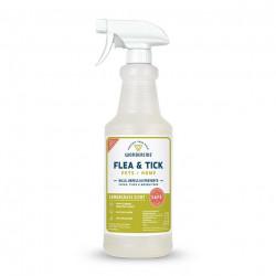 Flea & Tick Spray for Pets + Home - Lemongrass